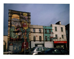 Smithfield, Dublin 2014 (jimleonard3) Tags: dublin film polaroid fujifilm smithfield fp100c instandfilm
