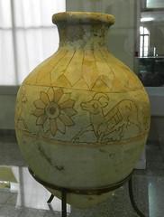 vasija ceramica pintada Arqueologico Nacional Teheran Iran  58 (Rafael Gomez - http://micamara.es) Tags: ceramica museum de iran persia historic national e museo tehran archaeological  nacional pintada  teheran irn histrico    arqueolgico vasija   tehern