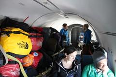 On the flight from Punta Arenas to Union Glacier (Malin and Espen) Tags: union ale antarctica glacier ani malin unurban hiseth