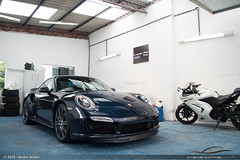 Porsche 911 Turbo (991) (Andre.Siloto) Tags: brazil cars car brasil automobile 911 automotive exotic turbo curitiba porsche pr parana cwb 991 ctba 2015 spotter worldcars