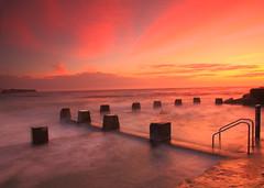 Coogee Baths 3 (Darren Schiller) Tags: ocean sea seascape beach sunrise sydney australia baths newsouthwales coogee