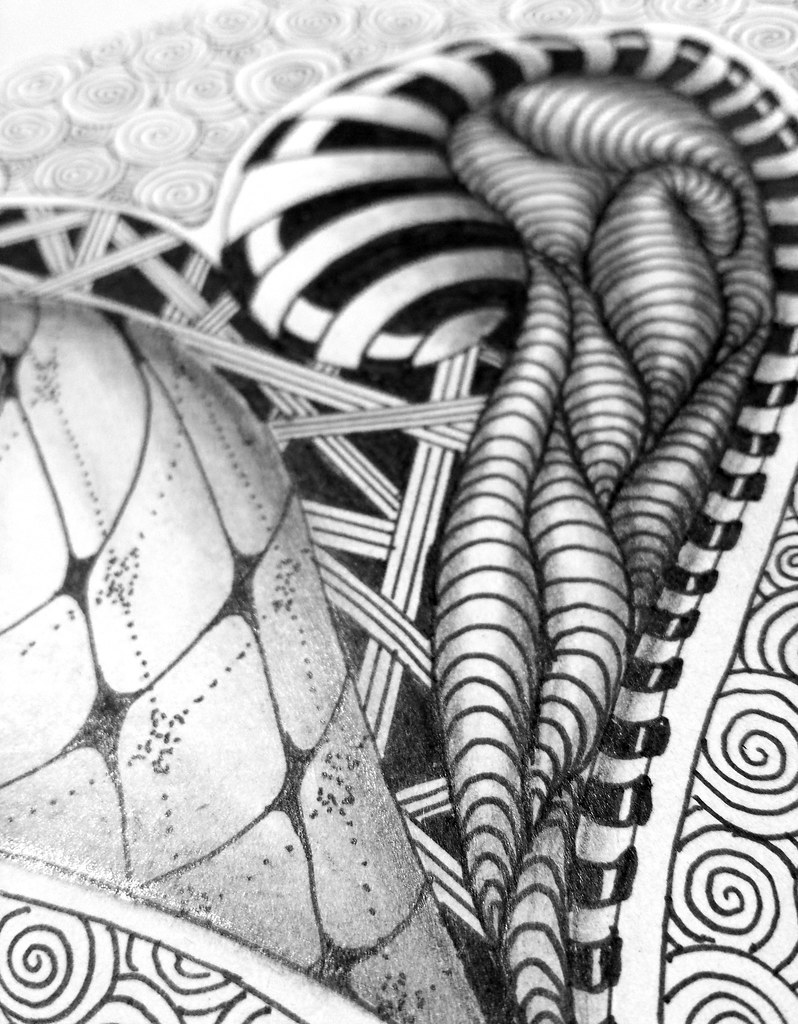Line Art Zendoodle : The world s newest photos of blackandwhite and zendoodle