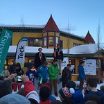 U14 Provincials at Silver Star, Day 1 Boys' GS Podium - 1. Gerrit Van Soest; 2. Nathan Romanin; 3. Eric Smith