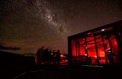 Earth & Sky Abuzz (Kristin Repsher) Tags: longexposure newzealand stars nikon df canterbury nz laketekapo tekapo milkyway starrysky mountjohnobservatory earthskytours