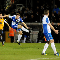 """Bristol Rovers v Gateshead  191214 • <a style=""""font-size:0.8em;"""" href=""""https://www.flickr.com/photos/125622569@N04/16094854352/"""" target=""""_blank"""">View on Flickr</a>"""