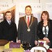 Showtel Jim McKay & Brid Igoe, Linen Sales Ltd and Stephen McNally, IHF President
