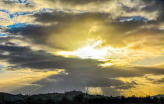 Crepuscular Rays (Dave McGlinchey) Tags: uk sky sun weather clouds nikon skies cloudy atmosphere rays waterdroplets sunbeam icecrystals cloudscapes crepuscularrays atmosphericoptic d7100 nikonafsdxzoomnikkor1855mmf3556gedii cloudsstormssunsetssunrises
