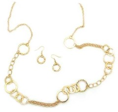 5th Avenue Gold Necklace P2010A-1