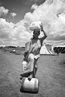 A young woman in Kakuma Refugee Camp.