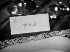 Lubitsch Day, part 1 (annacarvergay) Tags: handwriting 1932 lace placemat calligraphy namethatfilm cursive lubitsch ernstlubitsch ntf:guessedby=shanghailily