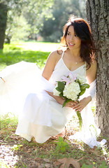 1.31.15 4 (Marcie Gonzalez) Tags: california park lighting county ca flowers wedding light portrait orange woman usa white green nature grass female america forest garden happy photography us model holding women soft photographer natural united north models parks fresh calif southern socal cal photograph ethereal session bouquet states weddings gonzalez elegant delicate offwhite simple arrangement marcie elegance so