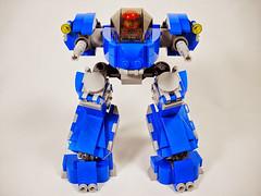 CSW-1 ( Striker ) (Peter deYeule) Tags: classic war lego space machine walker mecha mech