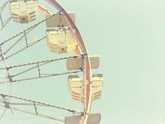 * favorite things: ferris wheel rides on dreamy summer days + the number 15. (*vanessa.) Tags: carnival vintage michigan pastel fair retro ferriswheel dreamy softtones monroecountyfair