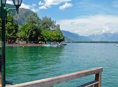 Zeller See (Amrico Aperta) Tags: lake salzburg water gua landscape lago austria town europa europe eu paisagem vila jpeg zellamsee ue salzburgo zellersee fujifilmfinepixs602zoom ustria a europacentral lakezell centralandeasterneurope dscf0146 amricoaperta lagozell