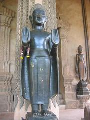 Standing Buddha Wat Phra Keaw