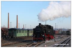Weißeritztalbahn - 2015-03 (olherfoto) Tags: railroad train eisenbahn rail railway trains steam sachsen bahn steamtrain narrowgauge dampflok dampfzug schmalspurbahn weiseritztalbahn