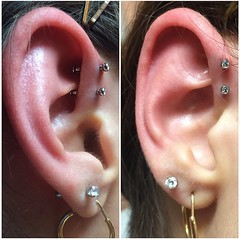 Double forward helix by Taylor Bell