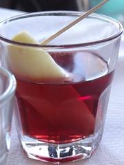 A piece of apple into a glass full of red wine! DSC01696 (omirou56) Tags: red apple wine hellas greece toothpick ελλαδα κοκκινο οδοντογλυφίδα μηλο κρασι