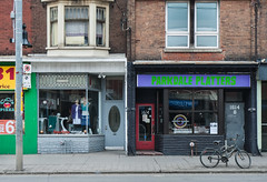 1616 & 1614 Queen St W (Kevin Steele) Tags: storefront queenstreetwest parkdale queenstw