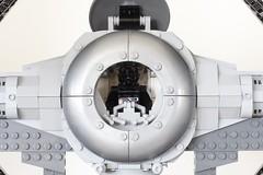 LEGO TIE Interceptor Pilot (SPARKART!) Tags: starwars lego tie returnofthejedi tiefighter ucs starfighter rotj 75095 sparkart