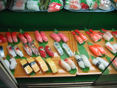 Plastic Sushi Looks As Good As the Real Stuff