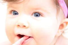 Realeyez Studio (Realeyez Studio) Tags: blue stella baby 6 flower eyes babies child month babyphotography realeyezstudio