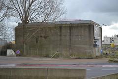Transformatorbunker, Oostende (Erf-goed.be) Tags: transformatorbunker bunker atlantikwall steunpunthafen oostende archeonet geotagged geo:lon=29421 geo:lat=512242 westvlaanderen