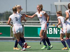 17180450 (roel.ubels) Tags: holland hockey sport spain nederland hc spanje oranje jong espagna fieldhockey houten 2016 oefenwedstrijd topsport oefeninterland