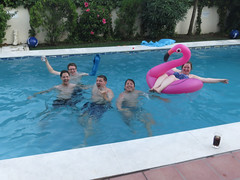 In Da Pool (DJ Damien) Tags: july2g16 spain chris lars jamie char katy pool