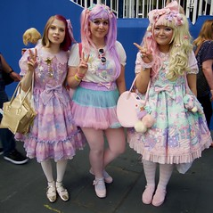 Hyper Japan 2016 7 (Terterian - A million+ views, thanks.) Tags: kensington london capital city uk olympia victorian exhibition centre venue hyper japan 2016 july japanese nippon nipponese culture pastel childlike innocent costume tradition festival art music martial pretty beautiful sexy lolita lollita girls female woman attractive happy smile alternative fashion fashionable models bunny rabbiot ears cookies plate cake pink cupcakes