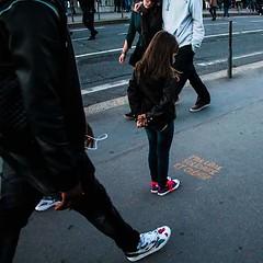Libre solidaire et cratif (nicouze) Tags: street streetart france girl lyon tag libert rue fille libre mouvement 14juillet immobile fraternit galit