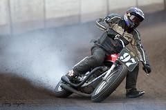 DTRA (FocusedWright) Tags: uk england bike dark norfolk motorbike dirt motorcycle dust oval 97 motorsport kingslynn motorcycleracing adrianflux dtra dirtquake dirttrackracingassociation