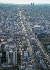Osaka afternoon (shinichiro*) Tags: 20160623sdim3779 2016 crazyshhin sigmasd1merrill sd1m sigma18300mmf3563dcmacrooshsm june summer osaka abenoharukas    japan
