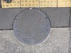 Kawagoe manhole (Stop carbon pollution) Tags: japan 日本 honshuu 本州 saitamaken 埼玉県 manhole kantou 関東 マンホール