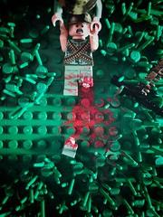 """Damn Boobytraps"" (CharlieCompanyProductions) Tags: casualty vietnam lego brickarms"