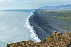 From Dyrholaey to west (Einar Schioth) Tags: dyrholaey sky summer sea day water canon clouds cloud coast shore cliff nationalgeographic ngc landscape photo picture outdoor iceland sland einarschioth
