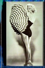 1952 Marilyn Monroe (eagle1effi) Tags: mm monroe 1952 umbrella schirm framed effiart 2016 rottenburg eagle1effi sx60 canon wrttemberg rautaburg germany