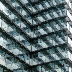 Kreishaus Siegen (Werner Schnell Images (2.stream)) Tags: ws kreisverwaltung kreis siegenwittgenstein kreishaus fassade siegen glas fenster windows reflection