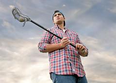 Lacrosse Senior Portrait (Jenny Onsager) Tags: lacrosse boyslacrosse seniorportrait seniorpicture teen teenboys highschool sports athlete