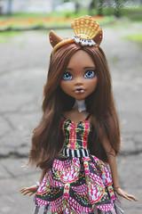 IMG_8314 (Cleo6666) Tags: mattel monsterhigh monster high clawdeen clawdeen17 ooak custom repaint doll
