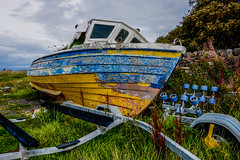Old Boat (murphy197) Tags: boat nikond7100 tokina1116mm anneflaherty dunureharbour ayrshire