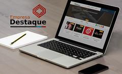 Logomarca e Lanamento do Site (JOJOB Agncia WEB) Tags: empresa destaque jojob agencia web