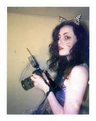 Katie - BTS (mattbellphoto) Tags: polaroid 690 250 kirstie expiredfilm packfilm instantfilm katierobinson 114mmf45 janellestarrett