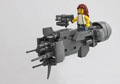 "Chibi USS Sulaco (""Aliens"") (halfbeak) Tags: lego space chibi ripley aliens sciencefiction sigourneyweaver sulaco getawayfromheryoubh gameovermangameoverwhatthefkarewegonnadonowwhatarewegonnado"