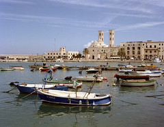 Puglia 2014 - Molfetta (Livio De Mia) Tags: camera 120 film analog mare fuji porto bronica medium format expired puglia medio bari 220 formato 2014 npc160 molfetta etrsi zenza