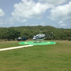 Antigua heli service.
