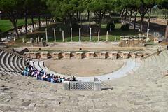 Rome - Thtre  Ostia Antica (Nicolas Vollmer) Tags: rome roma italia antique antica thtre ostia italie maximus vestiges tibre ostie decumanus