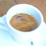 Long black coffee AUD3.80 - Allpress Espresso Cafe, Collingwood thumbnail