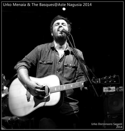 Urko Menaia & The Basques@Aste Nagusia 2014