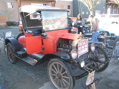 1914 Ford Model T (Hugo-90) Tags: classic ford washington antique swap wa 1914 meet puyallup modelt roadster earlybird